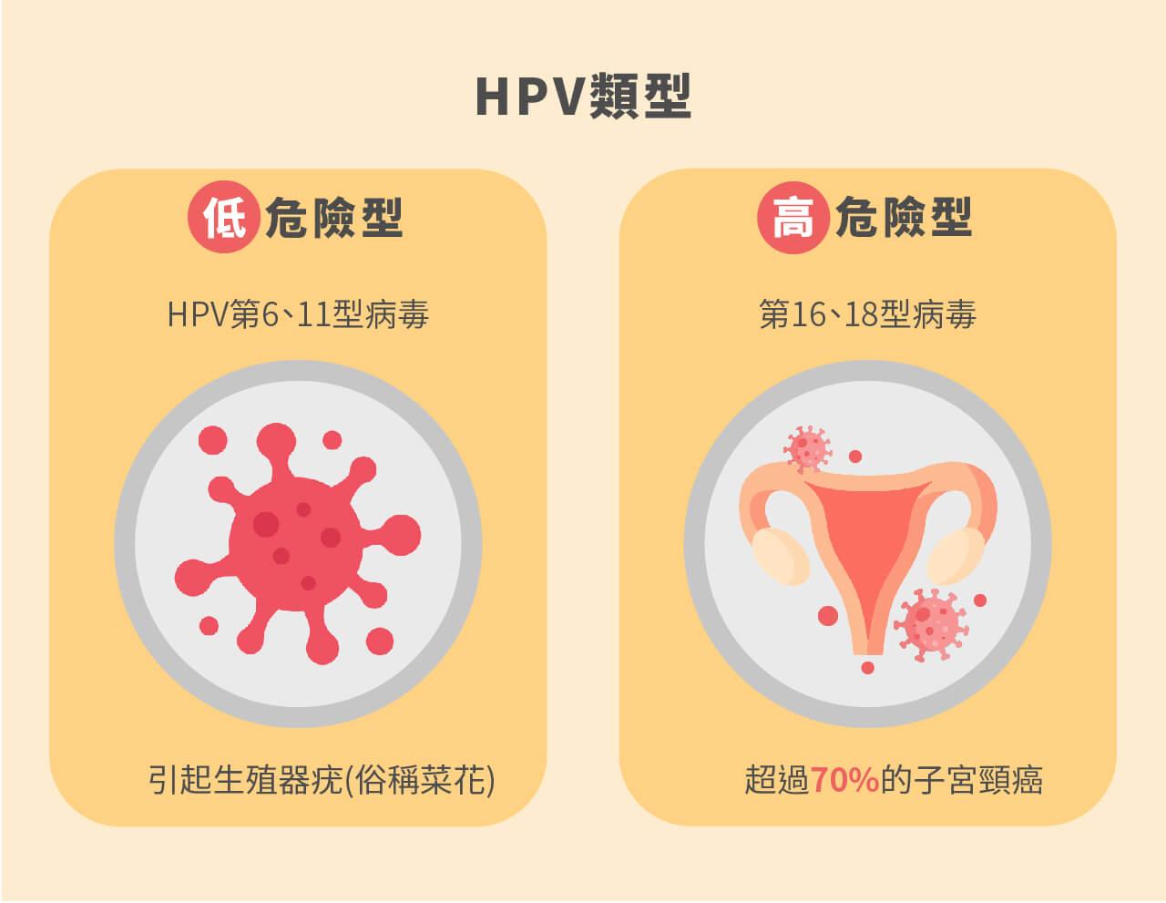 尼斯診所,子宮頸,九價疫苗,hpv類型